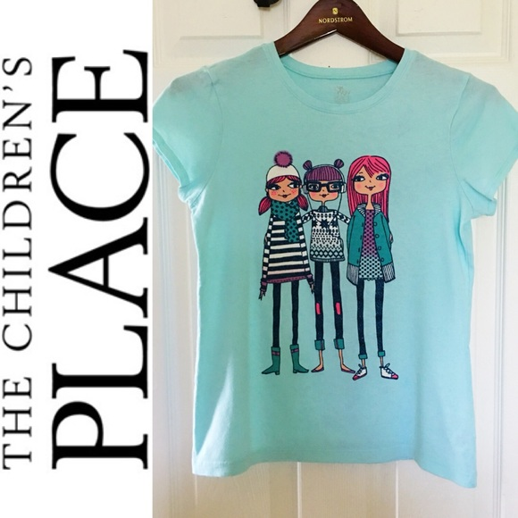 eaee6c5b8 The Children's Place Shirts & Tops | The Childrens Place Girls Sky ...